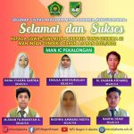 10 Siswa – Siswi MTsN 4 Jakarta Selatan di terima di MAN favorite