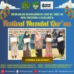 Gelar Anugrah Prestasi bagi siswa siswi peserta lomba Festival Nuzulul Qur'an