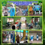 Pelaksanaan Hari Ketiga PTMT MTsN 4 Jakarta
