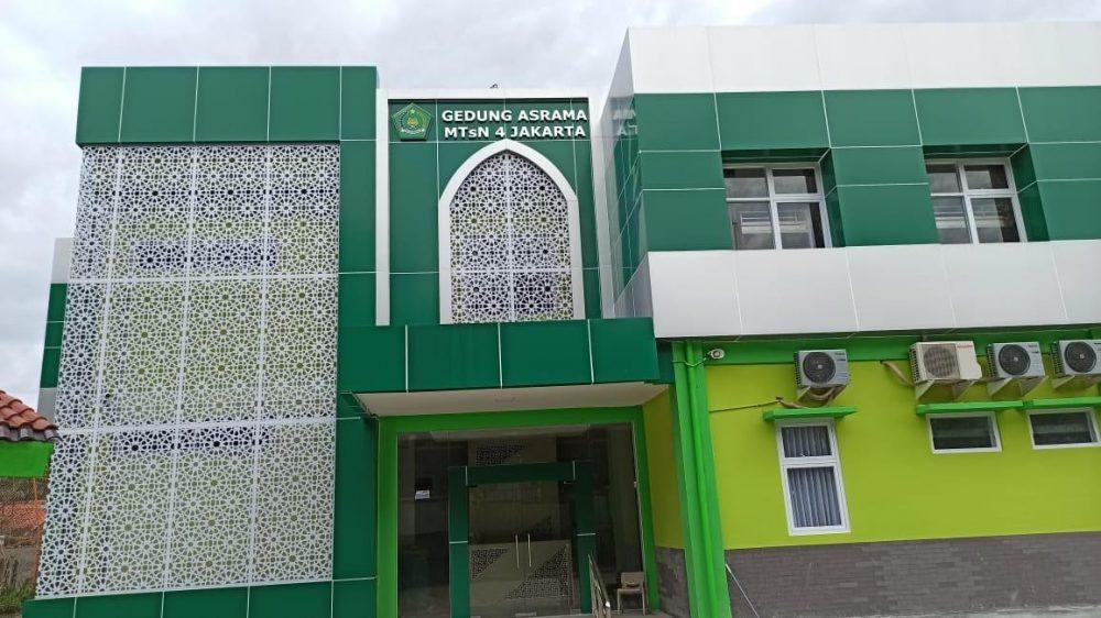 Gedung Asrama MTSN 4 Jakarta